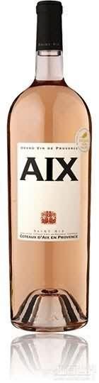圣艾克斯桃红葡萄酒(Domaine Saint Aix Coteaux d'Aix-en-Provence Aix Rose,...)