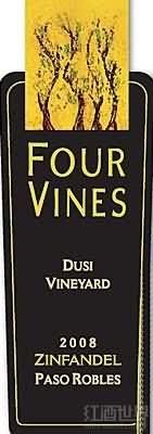 Four Vines Dusi Vineyard Zinfandel,Paso Robles,USA