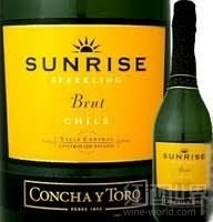 干露旭日天然起泡酒(Concha y Toro Sunrise Sparkling Brut,Central Valley,Chile)