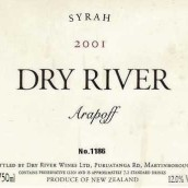 枯河瑞普西拉干红葡萄酒(Dry River Arapoff Syrah,Martinborough,New Zealand)