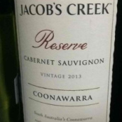 杰卡斯珍藏赤霞珠干红葡萄酒(Jacob's Creek Reserve Cabernet Sauvignon,Coonawarra,...)
