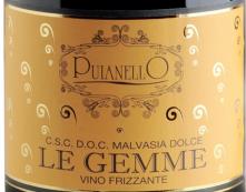 普亚莱洛乐盖美玛尔维萨甜型起泡酒(Cantina Puianello Le Gemme Malvasia Dolce,Emilia-Romagna,...)
