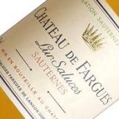 法歌酒庄甜白葡萄酒(Chateau de Fargues,Sauternes,France)