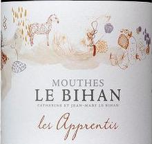 慕斯比昂庄园学习者干红葡萄酒(Domaine Mouthes Le Bihan Les Apprentis,Cotes de Duras,France)