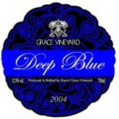 怡园深蓝干红葡萄酒(Grace Vineyard Deep Blue,Shanxi,China)