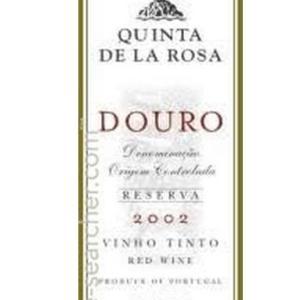 罗莎极干白波特酒(Quinta de la Rosa Extra Dry White Port,Portugal)