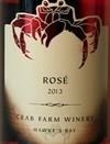 螃蟹酒庄桃红葡萄酒(Crab Farm Winery Rose,Hawke's Bay,New Zealand)