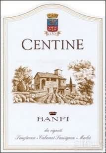 班菲圣亭干红葡萄酒(Banfi Centine,Tuscany,Italy)