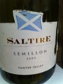 史威斯酒庄索提尔赛美蓉干白葡萄酒(Swish Wine Saltire Semillon,Hunter Valley,Australia)