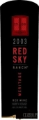 柏里欧红色天空园梅里蒂奇干红葡萄酒(Beaulieu Vineyard Red Sky Ranch Meritage,Napa Valley,USA)
