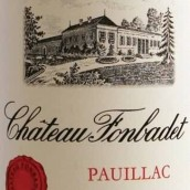 冯百代酒庄干红葡萄酒(Chateau Fonbadet,Pauillac,France)
