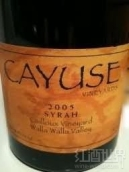 凯尤斯鹅卵石园西拉干红葡萄酒(Cayuse Cailloux Vineyard Syrah, Walla Walla Valley, USA)