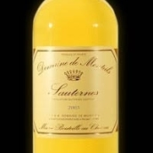 蒙玳苏玳贵腐甜白葡萄酒(Domaine de Monteils,Sauternes,France)