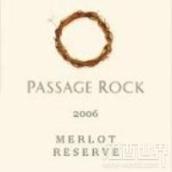 帕萨基洛克珍藏梅洛干红葡萄酒(Passage Rock Reserve Merlot,Waiheke Island,New Zealand)
