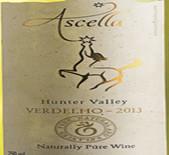 阿斯格拉华帝露干白葡萄酒(Ascella Verdelho,Hunter Valley,Australia)
