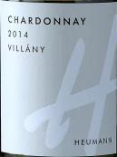 修曼酒庄霞多丽白葡萄酒(Heumann Chardonnay, Villany, Hungary)
