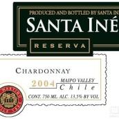 圣伊内斯珍藏霞多丽干白葡萄酒(Santa Ines Reserva Chardonnay,Limari Valley,Chile)