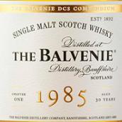 百富DCS康奔迪恩典藏原酒1985年份30年苏格兰单一麦芽威士忌(The Balvenie DCS Compendium 1985 Aged 30 Years Single Malt ...)