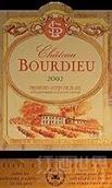 布尔迪厄酒庄红葡萄酒(Chateau Bourdieu, Premieres Cotes de Blaye, France)