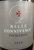 康维斯酒庄贝拉康维斯红葡萄酒(Chateau La Connivence 'La Belle Connivence', Pomerol, France)