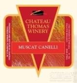 托马斯白麝香白葡萄酒(Chateau Thomas Winery Muscat Cannelli, Lodi, USA)