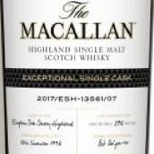 麦卡伦杰出单桶2017/ESH-13561/07苏格兰单一麦芽威士忌(The Macallan Exceptional Single Cask 2017/ESH-13561/07 ...)