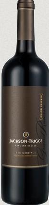 杰克逊瑞格园庄主珍藏梅里蒂奇干红葡萄酒(Jackson Triggs Proprietors' Grand Reserve Meritage,Okanagan ...)