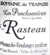 Domaine du Trapadis Rasteau Les Ponchonnieres Grenache ...