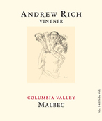安德鲁里奇马尔贝克干红葡萄酒(Andrew Rich Vintner Malbec,Columbia Valley,USA)