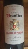 博利欧品丽珠梅洛混酿红葡萄酒(Chateau Beaulieu,Lalande de Pomerol,France)