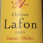 拉复酒庄干红葡萄酒(Chateau Lafon,Listrac-Medoc,France)