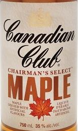 加拿大俱乐部主席精选枫木利口酒(Canadian Club Chairman's Select Maple Liqueur,Ontario,...)