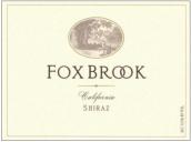 福克斯布鲁克西拉干红葡萄酒(Fox Brook Winery Shiraz,California,USA)