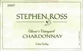 斯蒂芬罗斯奥利弗斯园霞多丽白葡萄酒(Stephen Ross Oliver's Vineyard Chardonnay,Edna Valley,USA)