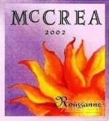 麦克雷胡珊白葡萄酒(McCrea Cellars Roussanne, Red Mountain, USA)
