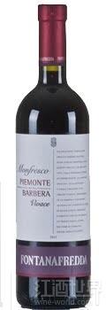 方达娜福达孟菲斯克巴贝拉干红葡萄酒(Fontanafredda Monfresco Vivace Piemonte Barbera,Piedmont,...)