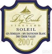 干溪谷苏蕾晚熟干白葡萄酒(Dry Creek Vineyard 'Soleil' Late Harvest, Dry Creek Valley, USA)
