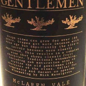 老绅士西拉红葡萄酒(Old Gentlemen Shiraz,McLaren Vale,Australia)