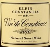 克莱坦亚康斯坦天然甜白葡萄酒(Klein Constantia Vin de Constance Natural Sweet Wine, Constantia, South Africa)