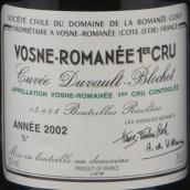 罗曼尼·康帝杜沃-布洛歇(沃恩-罗曼尼一级园)干红葡萄酒(Domaine de la Romanee-Conti Cuvee Duvault Blochet,Vosne-...)