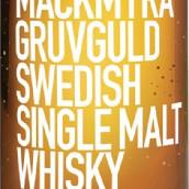 麦克米拉矿山之金瑞典单一麦芽威士忌(Mackmyra Gruvguld Swedish Single Malt Whisky,Sweden)