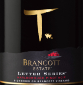 布兰卡特酒庄字母T黑皮诺干红葡萄酒(Brancott Estate Letter Series T Pinot Noir, Marlborough, New Zealand)
