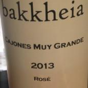 巴克海科欧涅斯·梅·格兰德斯桃红葡萄酒(Bakkheia Cojones Muy Grandes Rose,Preston Valley,Australia)