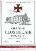 贝莱尔酒庄干红葡萄酒(Chateau Clos Bel Air, Pomerol, France)