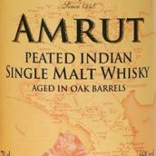 阿慕橡木桶陈泥煤味单一麦芽威士忌(Amrut Aged in Oak Barrels Peated Indian Single Malt Whisky,...)