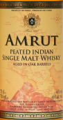 阿慕橡木桶陈泥煤味单一麦芽威士忌(Amrut Aged in Oak Barrels Peated Indian Single Malt Whisky,...)