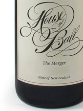 球屋混酿干红葡萄酒(House of Ball The Merger,Marlborough,New Zealand)