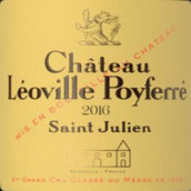 乐夫宝菲庄园红葡萄酒(Chateau Leoville-Poyferre,Saint-Julien,France)