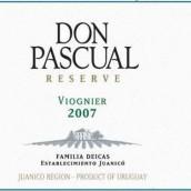 Don Pascual Reserve Viognier,Juanico,Uruguay