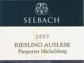 泽巴赫J&H皮斯博-米歇尔山雷司令精选白葡萄酒(Selbach-Oster J&H Selbach Piesporter Michelsberg Riesling ...)